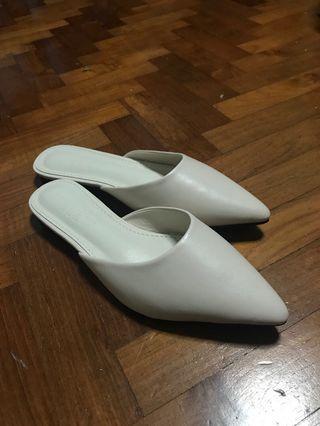 Brand new white sliders