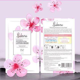 Diana's choice sakura whitening hydration lotion mask 戴安娜面膜 #summer19