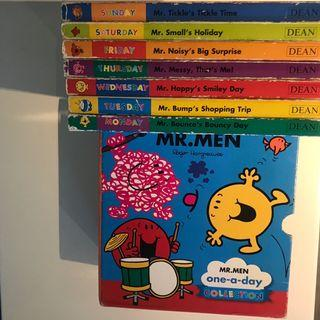 MR. MEN one-a-day collection