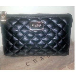 New Chanel Makeup VIP Gift Pouch Bag.