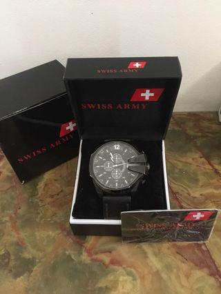 Authentic Swiss Army Men Watch