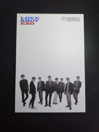 EXO LOVE SHOT ALBUM (SHOT VERSION)