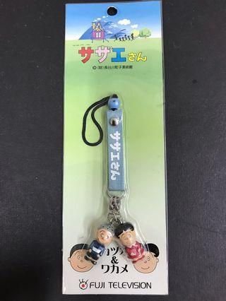 日本富士電視台動畫公仔吊飾