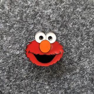 Elmo Enamel Pin Free Delivery