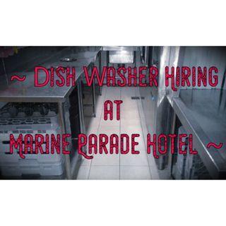 AD HOC Dish Washer Hiring