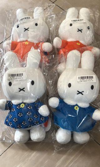 Miffy交叉兔公仔全新連吊牌