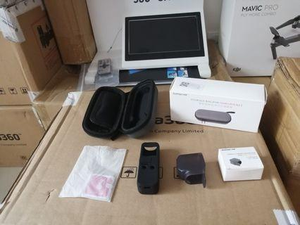 New DJI Osmo Pocket Hard case + Silicone cover + Lens Cap + Screen Protector