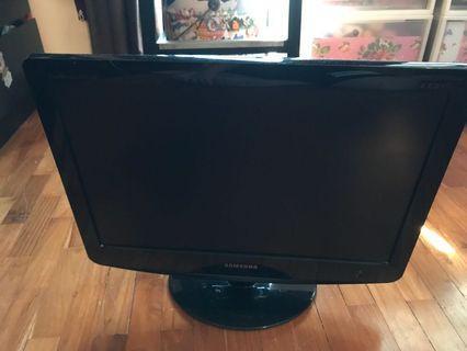 21 inch LCD Samsung TV