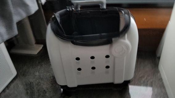 PUBT White pet small dog cat travel carrier