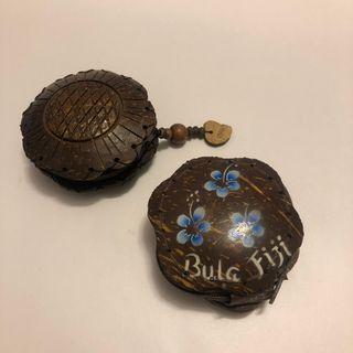 斐濟手信 椰子殼零錢包 銀包