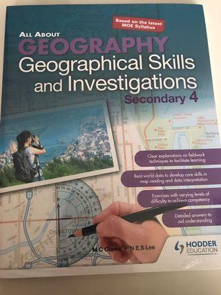 Secondary 4 Geography brand new