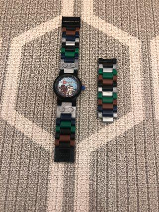 Lego watch Star Wars Hans Solo and Chewbacca