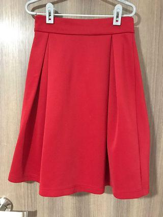 🚚 Studio Tangs Red Skirt
