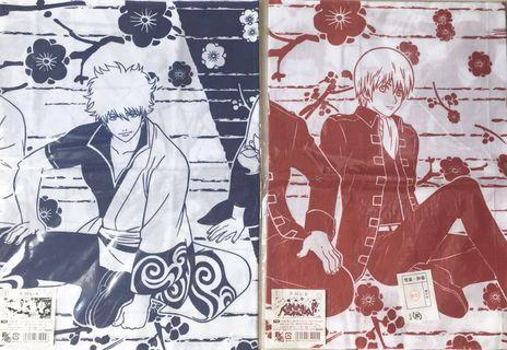 🚚 WTS Official Hand Towels of Gintama Set A & B + Gift 🎁