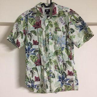 🚚 H&M 花襯衫