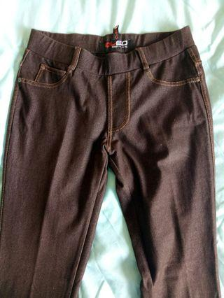 Brown long pants