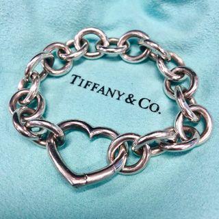 Tiffany💕心型特別版銀手鏈