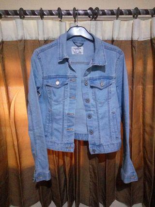 #mauTHR Pull and Bear Trucker Jeans Original 100%