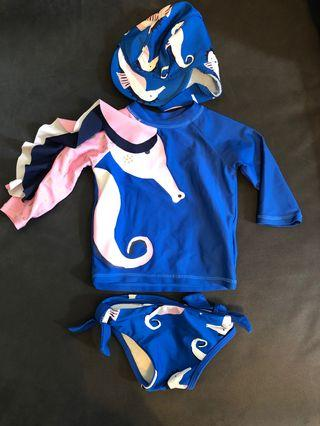 🚚 Baby swimsuits set
