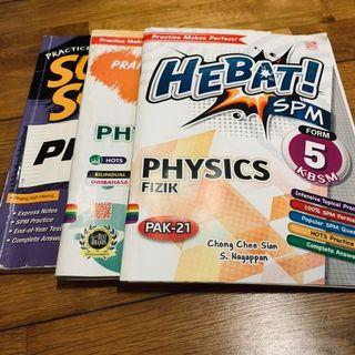 SPM Physics Reference Books 3FOR15
