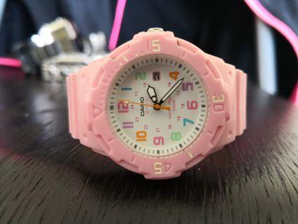 Casio pink analoh