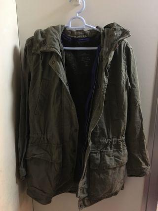 Gap Green Jacket 軍綠色外套