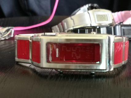 Casio sheen red