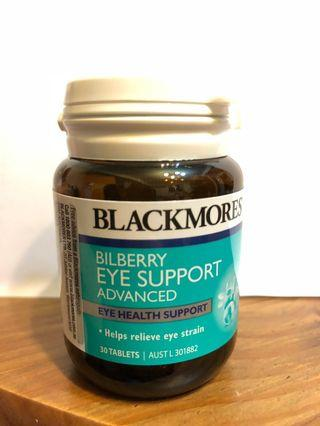 Blackmores  Bilberry Eye Support 30 Tablets (現貨)