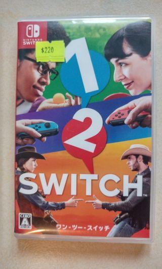 1 2 Switch (99% new 有盒)