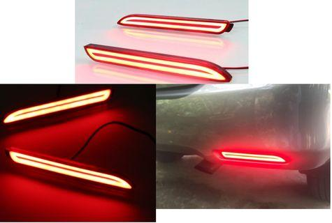 Toyota rear bumper led with signal