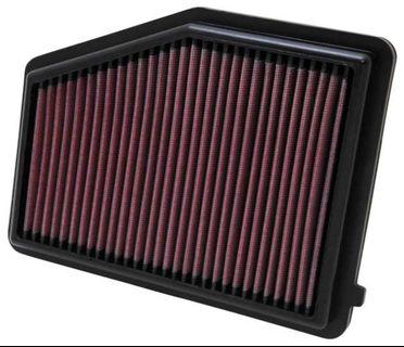 knn drop in filter for civic FD1