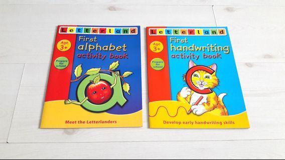 Bundle of 2 Brand New Letterland Activity Books