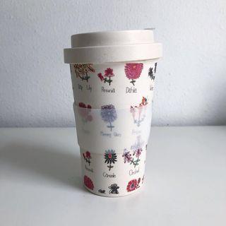 Bamboo fibre cup
