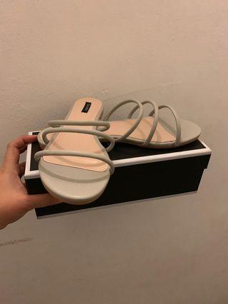 Zalora Triple Strip Sandals