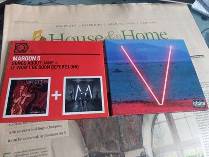 MAROON5 - SONGS ABOUT JANE + IT WON't BE SOON BEFORE LONG , V