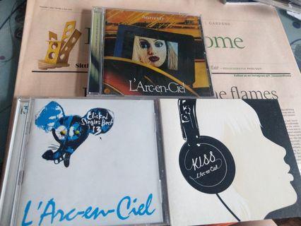 L'Arc〜en〜Ciel - KISS , HEAVENLY , CLICKED SINGLE BEST 13