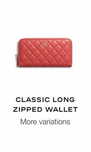 Chanel Zippy Wallet