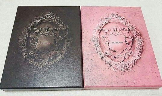 KILL THIS LOVE *Black and Pink ver.