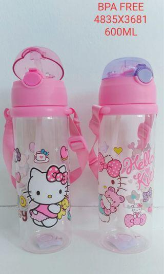 Kids Sanrio Hello Kitty Water Bottle