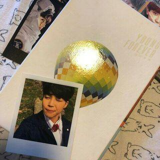 BTS YOUNG FOREVER ALBUM DAY VER. *with Jimin pc
