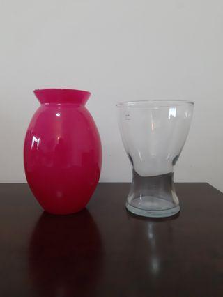🚚 Flower vase x2 (Ikea brand)