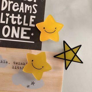 Star Pin Badge Brooch ‼️5 FREE 1‼️