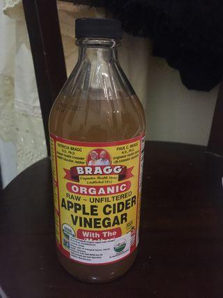 Bragg Apple Cider Vinegar #mauthr