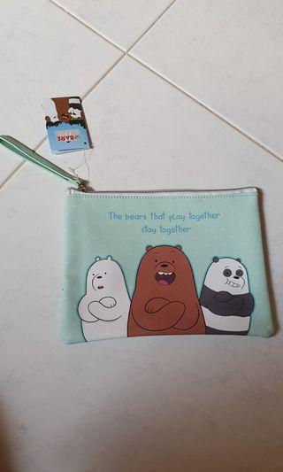 We bare bear pouch