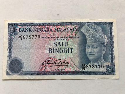 $1 Malaysia Ringgit
