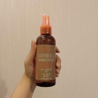 Bath and Body Works Fine Lavender & Sandalwood Fragrance Mist