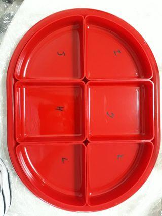 Tray set container