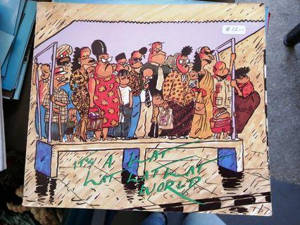 🚚 It's a Lat Lat Lat Lat World comic book 1985