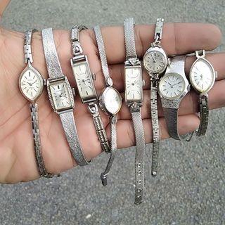 Vintage Rare Ladies Handwind Watches