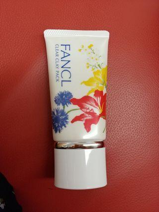 Fancl clear clay mask 50g